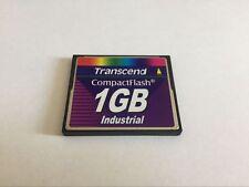 transcend 1GB industrial  compactflash CF memory card
