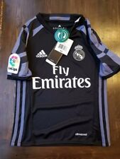 Real Madrid 2016-17 Adidas Away Jersey, Size Youth XS (7-8 Years) NEW $70