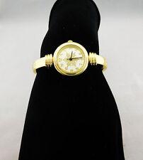 CHARTER CLUB Women's Snoeflak Gold tone Bracelet Watch Msrp $24.50