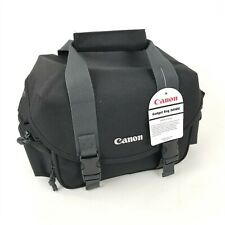 NWT Canon 300DG Digital Gadget Bag For All EOS and Rebel Cameras, Black/Gray