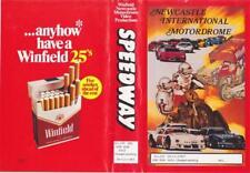 SPEEDWAY NEWCASTLE INTERNATIONAL MOTORDROME 87 VHS VIDEO PAL A RARE FIND VINTAGE