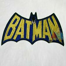 Batman 70's Comics Logo Embroidered Patch Joker Batmobile Robin Penguin 60's