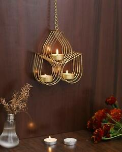 Collectible India Iron Wall Hanging Tealight Candle Holder