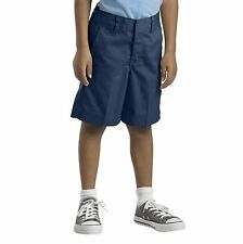 Dickies Toddler Navy Shorts Pull On Flat Front School Uniforms  Sizes 2T, 3T, 4T