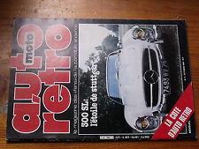 $$ Revue auto moto retro N°3 Mercedes 300 SL  Cherokee Laredo  Volvo 1800 ES