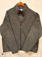 Columbia Sportswear Men's Fleece Zip-up Jacket - Charcoal Gray  - XL