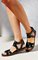 Urban Outfitters Hayden Strappy Sandal Black Vegan Sandal Size 9