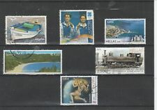 GREECE USED EURO STAMPS
