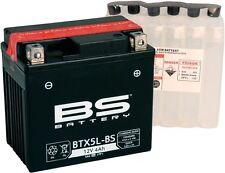 Motorroller Batterie CTX/YTX 5L-BS wartungsfrei MTF mit Säurepack