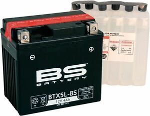 Scooter Battery Ctx / Ytx 5L-BS Maintenance-Free Mtf With Acid Pack