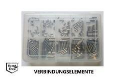 Zylinderstift Sortiment/Set DIN 7 250 Teile EDELSTAHL A1 Ø 3