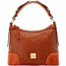 Dooney & Bourke Ostrich Hobo Shoulder Bag