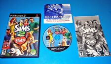 Sims 2: Pets (Sony PlayStation 2) CIB W/ Manual Tested PS2