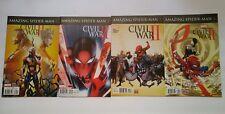 Amazing Spider-Man (2016)  # 1 - 4  Civil War II Complete Run