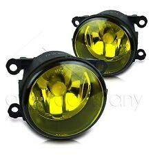 For 15-17 Subaru WRX/STI Replacement Fog Lamps w/High Power COB LED Bulbs-Yellow