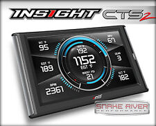 EDGE CTS 2 INSIGHT PRO MONITOR GAUGES FOR 1996 AND UP GMC SIERRA 1500 2500 3500