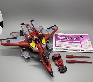 Starscream Swindle Max-Con 100% Complete Armada 2002 Hasbro Transformers Figures
