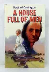 A House Full of Men by Pauline Marrington vintage hardcover dust jacket 1979