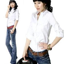 Langarm Damenblusen, - Tops & -Shirts mit Peace Normalgröße