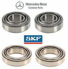 Mercedes W215 S350 CL500 Kit of 2 Front Inner and 2 Front Outer Wheel Bearings
