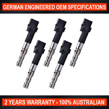 5x OEM Quality Ignition Coil for Volkswagen Bora Golf Seat Toledo 2.3L V5 AQN