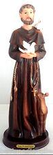 STATUE San Francisco De Asis Saint Francis SCULPTURE 12 Inch 6258-12 BRAND NEW