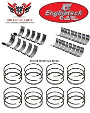 ENGINETECH AMC JEEP 343 360 V8 ROD AND MAIN BEARINGS WITH PISTON RINGS 67 - 91