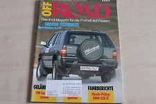 164608) BMW 525iX E34 - Opel Frontera 2.0 TD TEST - OFF Road 04/1992