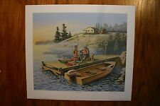 Hooked On You James Lumbers Signed Open Edition Collectors Print
