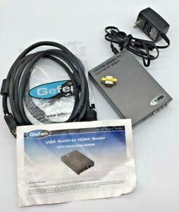 GEFEN VGA Audio to HDMI Scaler EXT-VGAAUD-2-HDMIS