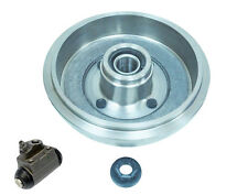 FORD FOCUS MK1 REAR 1 BRAKE DRUM + 1 FITTED WHEEL BEARING HUB NUT + 1 CYLINDER