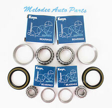 2 KOYO Japanese Front Wheel Bearing With Seal set For 84 - 95 TOYOTA 4RUNNER 4WD