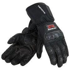 Suzuki GSX-R Leather Gauntlet Gloves in Black - Size Large - Genuine Suzuki-New