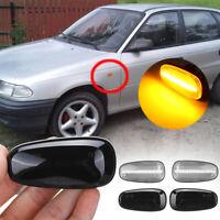 2Pcs LED Side Indicator Repeater Light For Vauxhall Opel l Zafira A