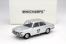 BMW 2000 TI #17 Winner 24h Spa 1966 Ickx / Hahne 1:18 Minichamps