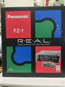 Panasonic 3DO REAL Console System FZ-1 Controller Game Japan USED