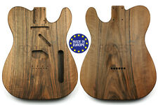 TELECASTER 50s Body Electric guitar 1 piece Spanish walnut vintage style