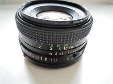 Canon FD 50 mm f/1.8 Lens