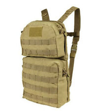 Molle HYDRATION Carrier BACK-PACK Pack w/ 2.5L Bladder Water TPU - TAN Coyote