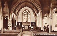 BR67248 st martin s church bladon real photo  uk 14x9cm