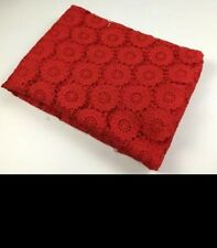 High quality african lace/100% Cotton cord lace fabric for wedding part