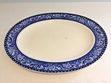2 X Vintage Alfred Meakin Brisbane Oval Platters Easy To Use Lovely Condition