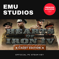 Hearts of Iron IV - Cadet Edition (PC) Steam Key WW2