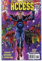 ALL ACCESS #1, NM, Superman, Spiderman, DC/Marvel, 1996, more in store
