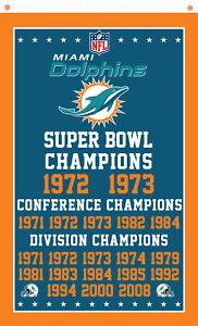 Miami Dolphins football team Memorable flag 90x150cm 3x5ft best banner