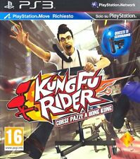 Kung Fu Rider - Corse pazze a HK   PS3  sigillato PLAYSTATION MOVE RICHIESTO