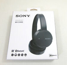 Sony WH-CH500 Wireless On-Ear Bluetooth Headphones Black WHCH500/B