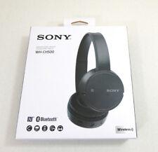 Sony WH-CH500 Wireless On-Ear Bluetooth Headphones Black WHCH500/B