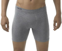 Sub Sports SubAir Mens Seamless Boxer Short Grey Underwear Gym Workout S L 2XL