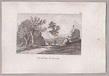 Spanien - El Escorial bei Madrid - Spain. Stich - Seltener Kupferstich um 1820